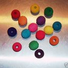 """18 1"""" Wood BEEHIVES bird toy parts parrots cages crafts"""