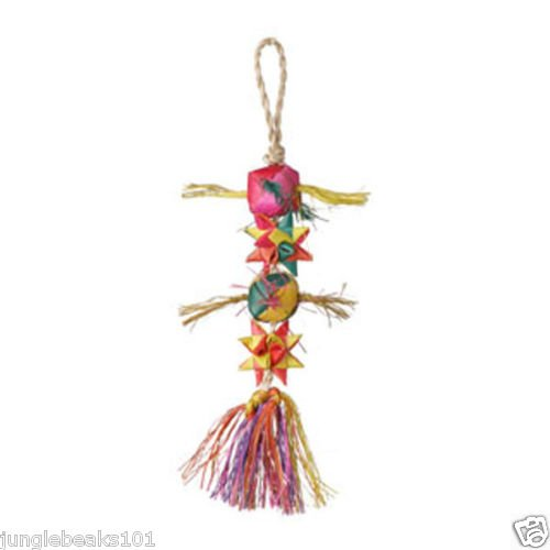 STARS & BALLS bird toy parts parrots parkaeets finch