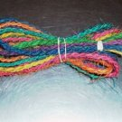 105' Colored Coconut Rope bird toy parts parrots crafts
