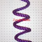 PURPLE MED Sisal Rope Boing bird toy parts parrots cages perches