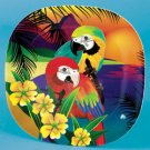 1 Macaw Parrot Plate bird household parties dinner