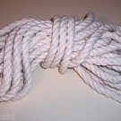 "100' 1/2"" Supreme Cotton Rope bird toy parts parrots pets BULK"