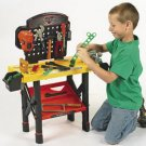 Workshop Tool Bench Set toys kids gift boys handyman FREE SHIP TO USA