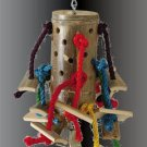 LRG BAMBOO bird toy parts parrots cockatoo macaw amazon