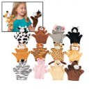 ANIMAL HAND PUPPET (1) toys gift prize kids loot bag game play