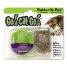 Go Cat Go Butterfly Ball catnip toy play kitty