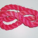 "1.5"" PINK SISAL Rope Unoiled bird toy parts 4.5' monkey"