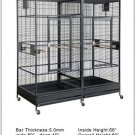 80x40x80 HUGE DOUBLE MACAW bird cage +$275 FREE Toys and Shippin in the USA