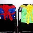 4 CHRISTMAS PRESENT Chair Covers decorations holiday