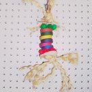 FRAZZLE DAZZLE bird toy parts parrots greys eclectus