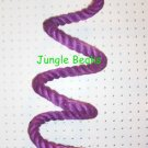 PURPLE Sisal Rope Boing Swing bird toy perch LRG parrot