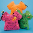 Autograph SHIRT Pillow toys gifts prizes kids parties