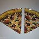 2 PIZZA PLATES gifts prizes kids novelties favors party