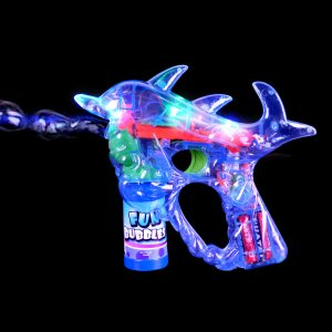 DOLPHIN LIGHT UP BUBBLE machine toys gifts prizes kids