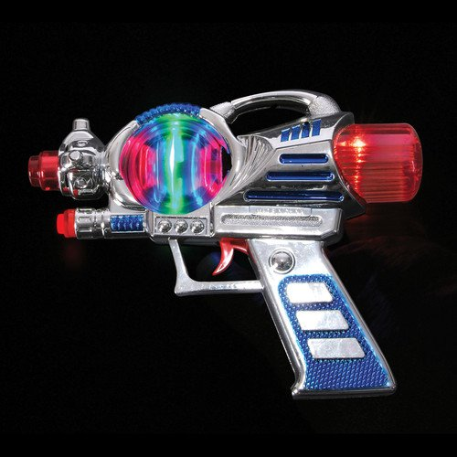 SPACE GUN w/lights & sounds toys gifts prizes kids