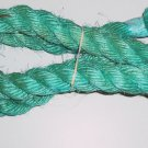 "1.5"" SKY BLUE SISAL Rope Unoiled bird toy parts 4.5' monkey"