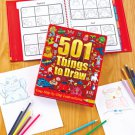 501 THINGS TO DRAW book kids art crafts prize gift school learning
