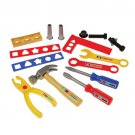 12 piece TOOL SET kids toys game boys girls play plastic gift
