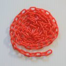 "5' RED 3/4"" Plastic Chain bird toy parts parrots glider"