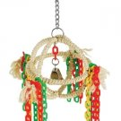 SISAL ORB SWING bird toy parrots cages tiels lovebird keet parrotlet