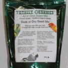 TOTALLY ORGANIC Seed Mix bird parrot food supplies 5 lb