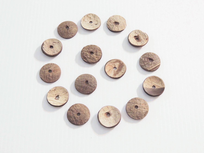 500 Coconut Discs bird toy parts parrots bulk crafts