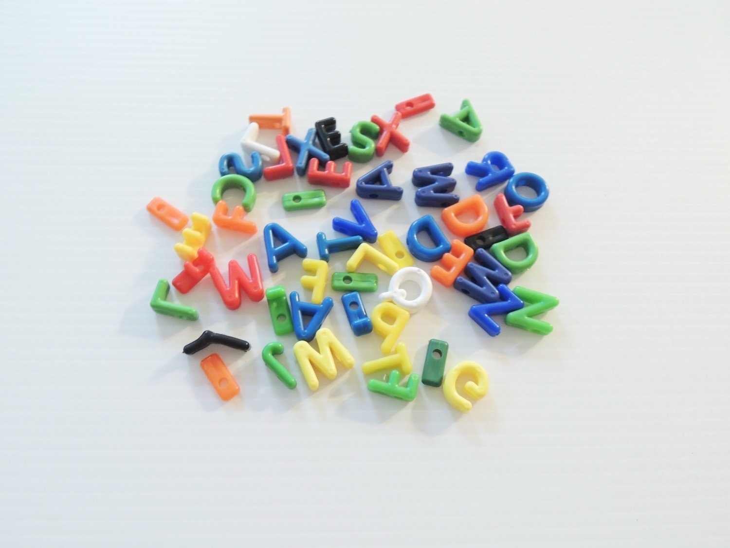 50 Letter Beads bird toy parts parrots cages perch
