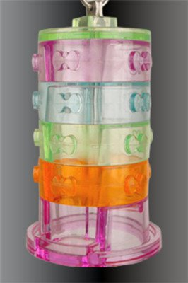 STACKING TREAT acrylic bird toys parrots cages parts