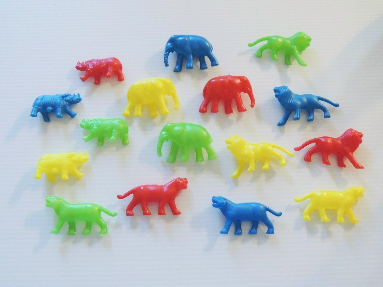 Plastic Jungle Animals bird toy parts parrots cages