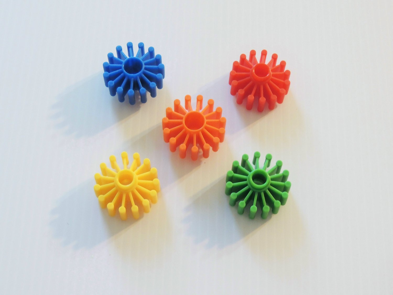 5 COOL Plastic Wheels big bird toy parts kids crafts