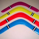 "15"" Plastic BOOMERANG toy kids games flying prizes gift"