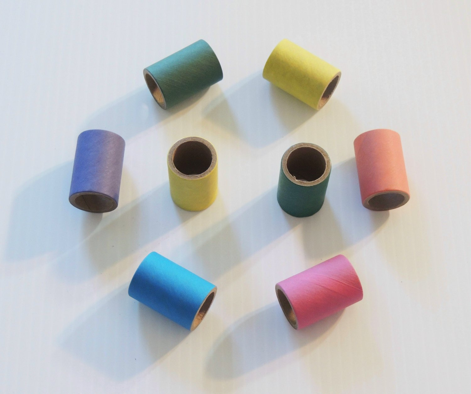 "64 1.5"" Bagel Tube Minis toy parts parrot rabbit chins"