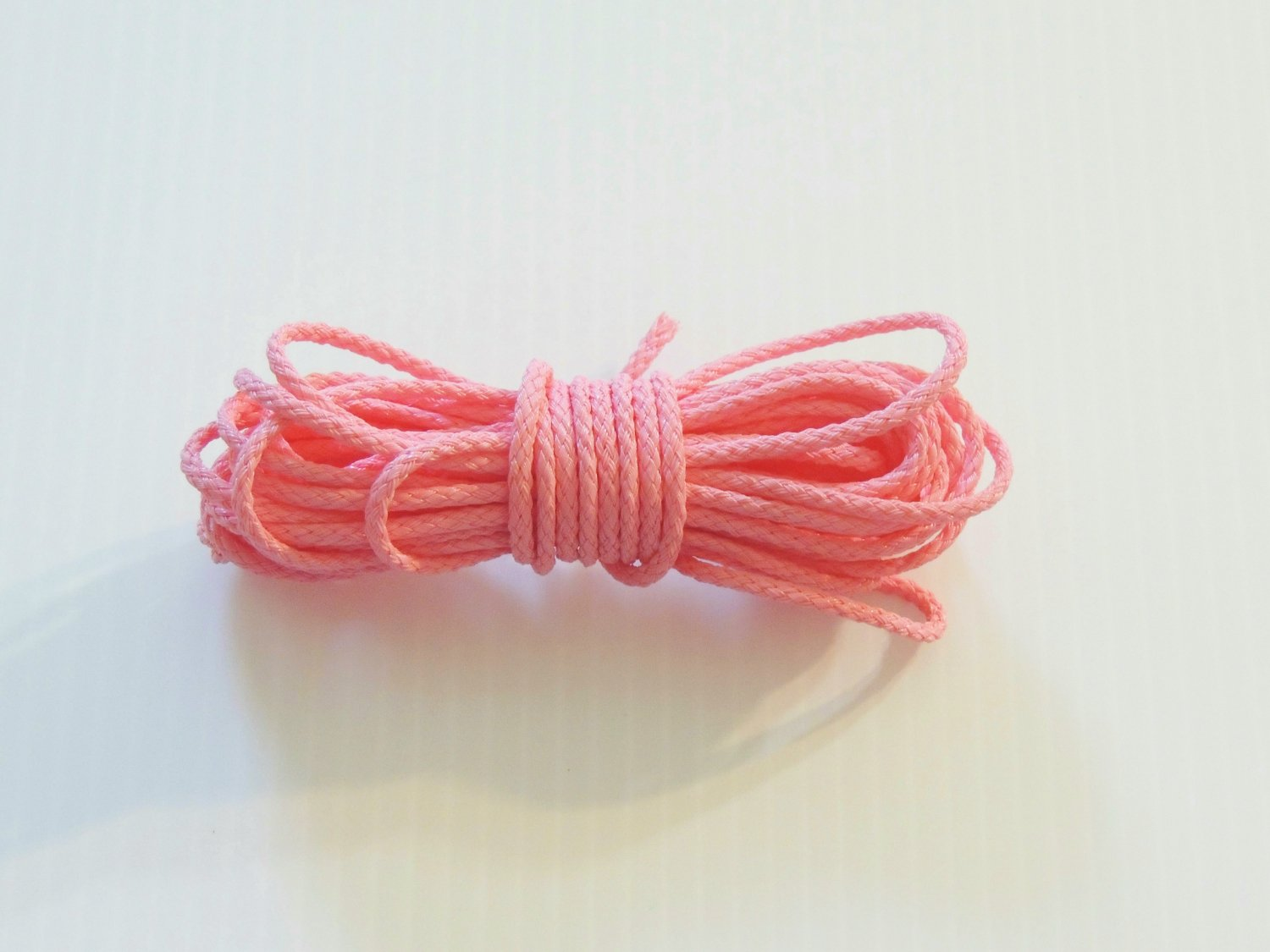 20' PINK POLY/PAULIE ROPE bird toy parts for parrots cages crafts