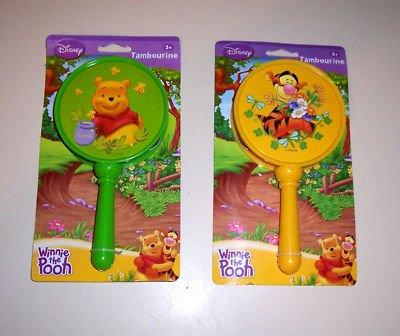 1 Hand Held TAMBOURINE toys gifts prizes kids music