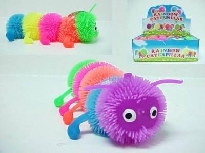 CATERPILLAR PUFFET BALL toys gifts prizes kids novelty