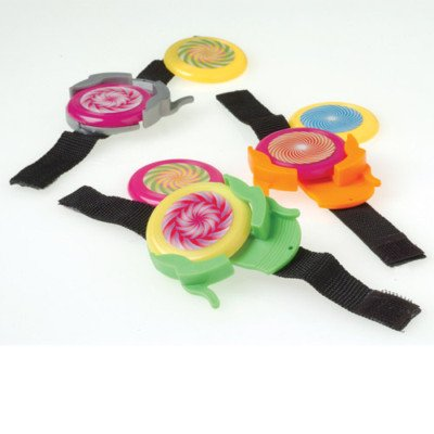DISC SHOOTER WRIST BANDS toys prizes kids loot bag game