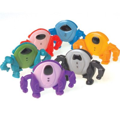 4 Robot Disc Shooter toys gift prize kids loot bag game