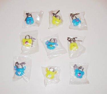 ANIMAL FACE LOCKS toys gifts prizes kids loot bags game