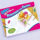 HUGE Faries & Princesses Drawing pad kids gift prize stocking stuffer art