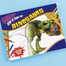 HUGE Dinosaurs Drawing pad kids gift prize stocking stuffer art