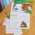 HUGE Baby Animals Drawing pad kids gift prize stocking stuffer art