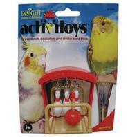 Mini BOWLING bird toy parts parrots bungies tiels keets