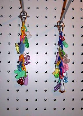 1 CHAIN REACTION bird toy parts parrots cockatiel keets