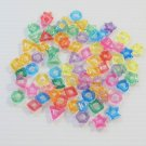 500 CRAZY SHAPE Rings bird toy parts parrot cage craft