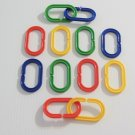 12 C-Clips bird toy parts parrots cages craft