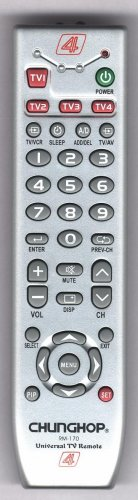 universal TV remote control RM-170