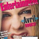 How AVRIL LAVIGNE Became The New Pop Idol - Entertainment Weekly Magazine #680 November 1, 2002