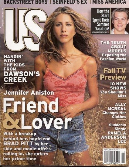 JENNIFER ANISTON, BACKSTREET BOYS, ALLY McBEAL, PAMELA ANDERSON October 1998 US Magazine #249