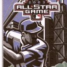 2003 Major League Baseball Official All-Star Game Ballot July 15, 2003 Radio Shack