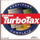 TurboTax For Windows Tax Year 1999 CD Personal 1040 Final Edition